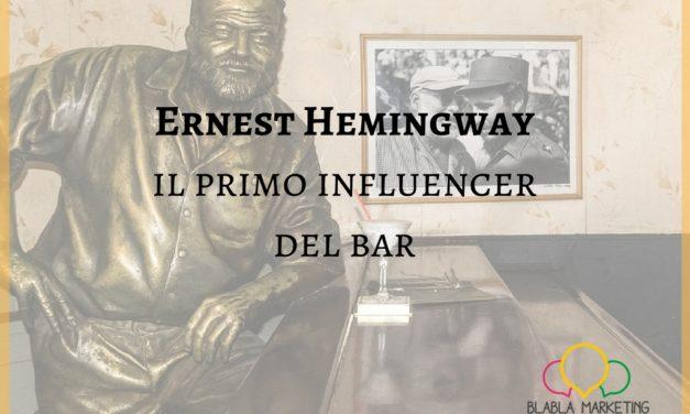 Ernest Hemingway, il primo influencer del bar