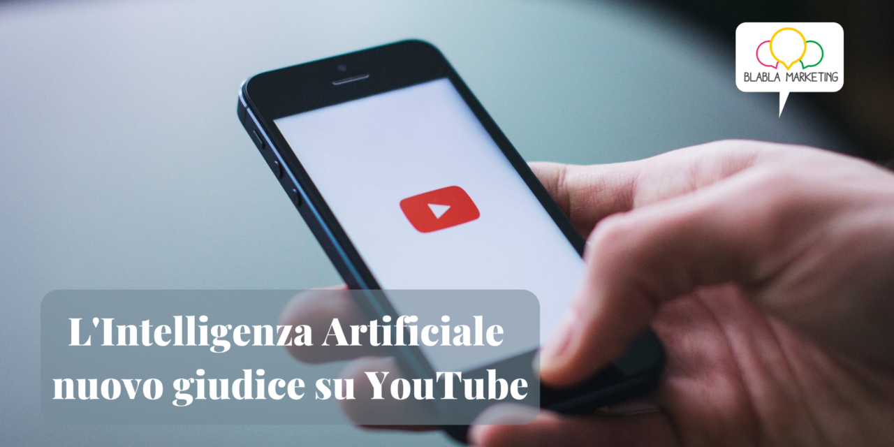 L'Intelligenza Artificiale nuovo giudice su YouTube