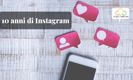 10 anni di Instagram