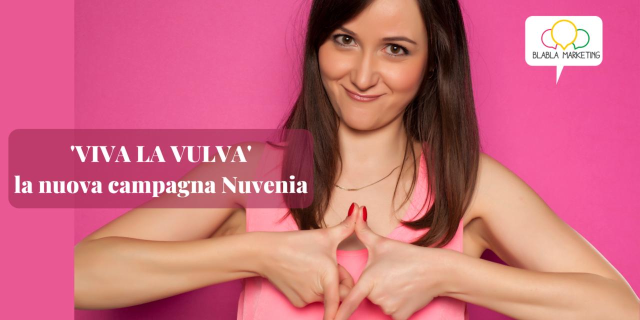VIVA LA VULVA è la nuova campagna marketing Nuvenia
